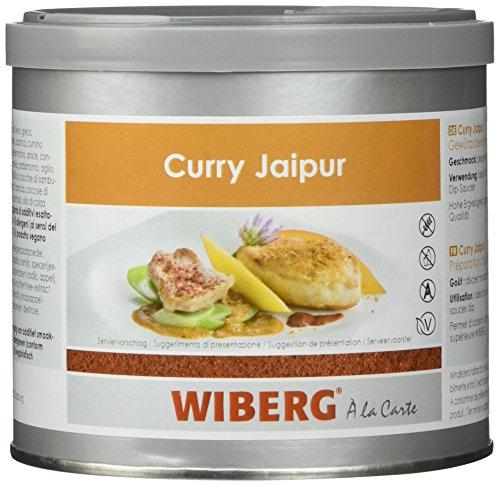 Wiberg Curry Jaipur Gewürzzubereitung Kräftig Rot 250 g, 1er Pack