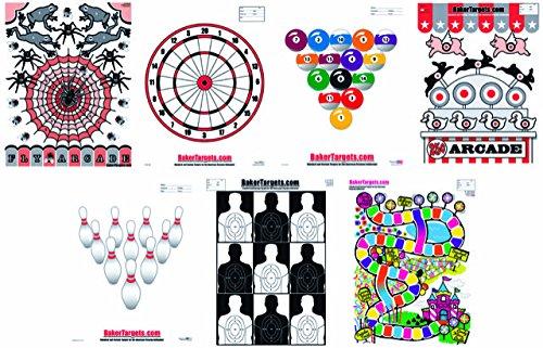 Game Fun Target Pack - 23' x 35' - 21 Targets Total
