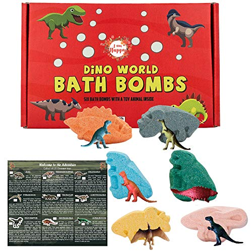 Kids Bath Bombs with Surprise Inside: Sea Animal Toys...