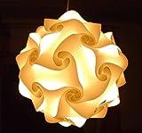 Unbekannt IQ Puzzle Lampe Taille XXL, 30Pièces à Assembler: env. 52cm de diamètre