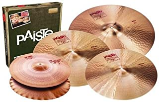 Paiste 2002 Big Beat Cymbal Pack with Free 18 Inches Crash - 15 20 24 18 Inches