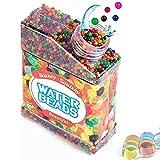50000 Pcs Perlas de Agua de Gel, Bolas de Gel de Agua para Decoración, Bolas de Hidrogel para...
