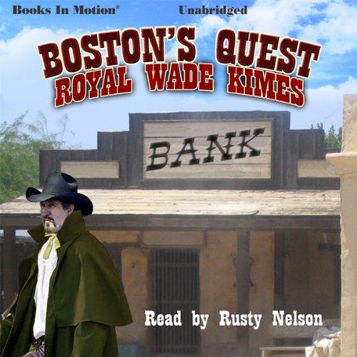 Boston's Quest audiobook cover art