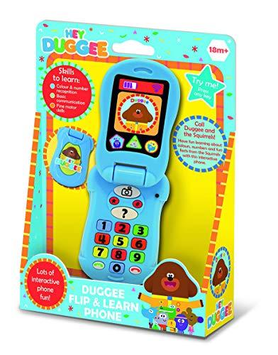 Niños Play Time Hey Duggee Flip & Learn Teléfono Juguete