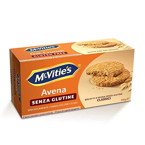 Mcvitie's Avena Biscotti senza Glutine, 150g