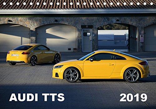 Audi TTS (Tischkalender 2019 DIN A5 quer): Der Audi TTS des Modelljahres 2015 (Monatskalender, 14 Seiten )