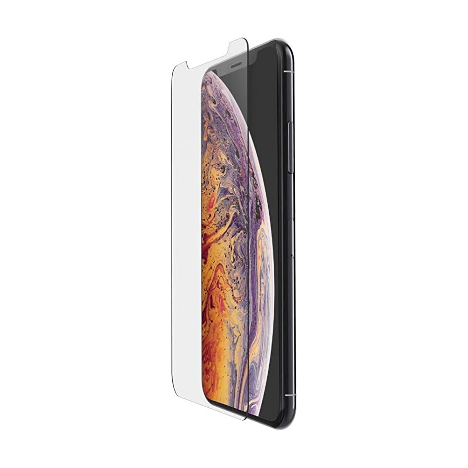 Clear HD Tempered Glass Screen Protector Anti-Scratch Screen Protector Compatible with iPhone Xs Max 6.5 inch 2018 (1 Pack)