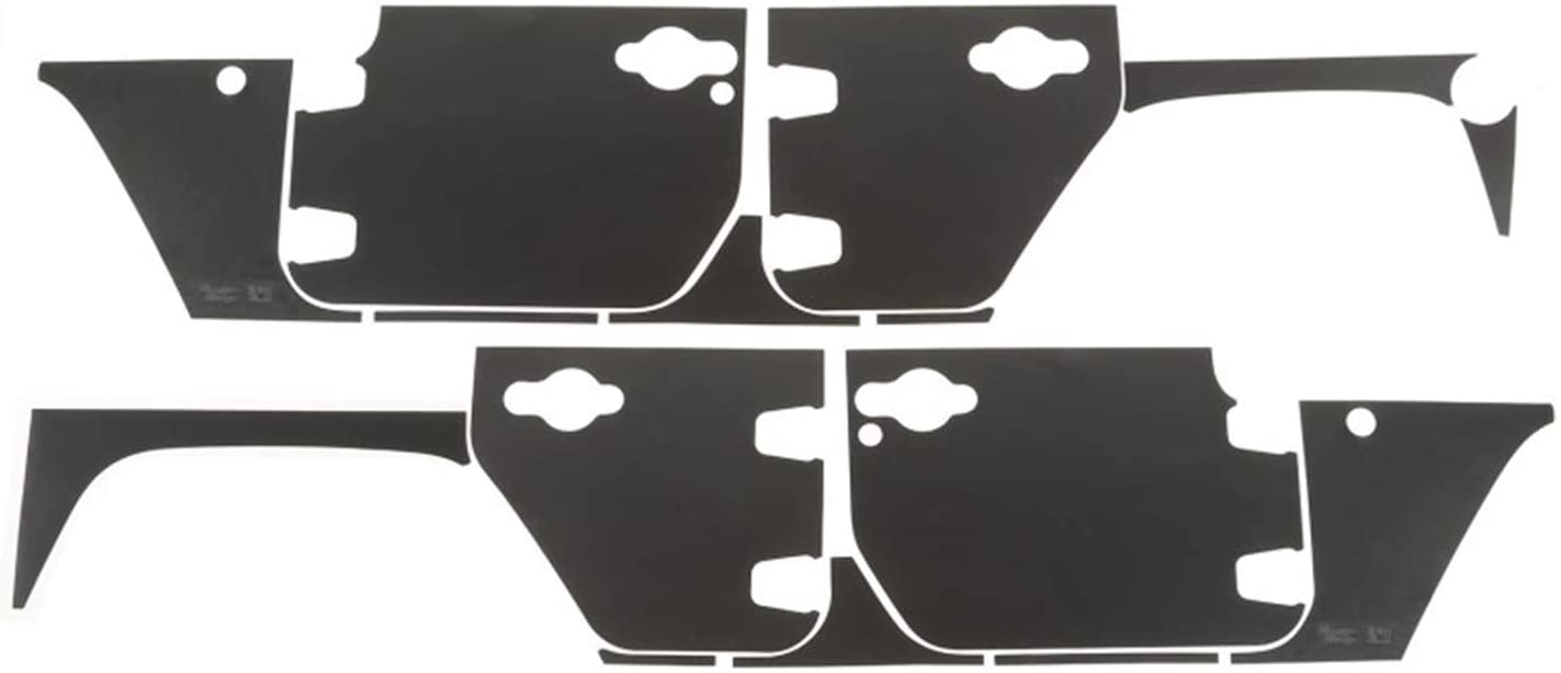 Rugged Ridge 12300.53 Magnetic Recommended Max 43% OFF Protection Jeep Panel 07-18 Kit;