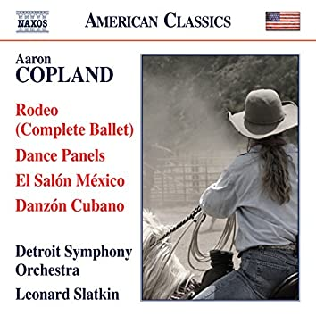 Copland: Rodeo, Dance Panels, El Salón México & Danzón Cubano