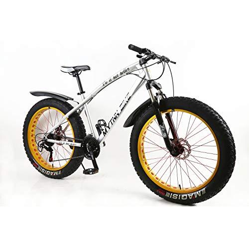 MYTNN Fatbike Fat Tyre 2020 - Bicicleta de montaña (26 pulgadas, 21 marchas, 47 cm)