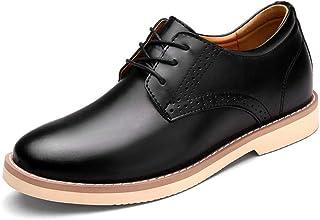 Dingziyue scarpe in pelle, scarpe da uomo, scarpe da lavoro (Colore: nero, Taglia : 44)