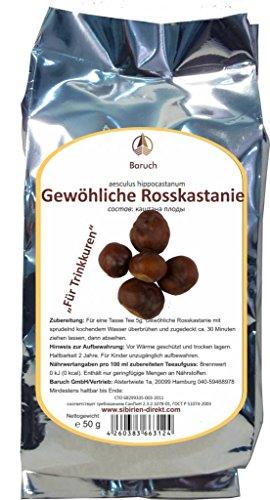 Rosskastanie - (Aesculus hippocastanum, Gemeine Rosskastanie, Weiße Rosskastanie) - 50g
