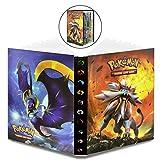 WELLXUNK Álbum de Pokemon Pokemon GX EX Álbum de Cartas Coleccionables Pokémon Titular de Tarjetas de Pokemon Pokémon,30 Páginas y Puede Contener 240 Pokemon Tarjetas(Sun Moon)