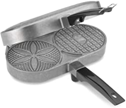 Palmer Pizzelle Maker Classic - Make 2 Delicious Pizzelles In Half The Time Required By Hand Irons - 120 Volts, 800 Watts - Made in the USA