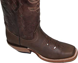 Cowgirl Western Lazer Cut Cow Hide Genuine Leather Boots