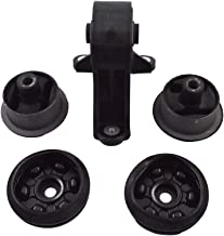 5x Rear Differential Arm Mounting Bushing + Top Support Set For Honda/CR-V 2001-2012