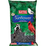 Kaytee Black Oil Sunflower is the best single grain for attracting the widest variety of wild birds High Oil Content Provides Birds Their Necessary Year Round Energy Appealing to smaller song birds such as Cardinals and Chickadees Thinner hulls make ...