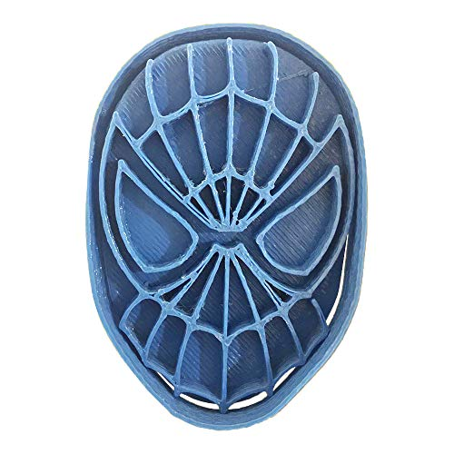 Cuticuter Superheroes Spiderman Keksausstecher, Blau, 8 x 7 x 1,5 cm