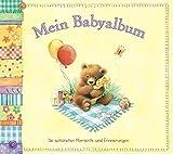 Mein Babyalbum: Die schönsten Momente und Erinnerungen. Erinnerungsalbum in wunderschöner Ausstattung mit Halteband. Das perfekte Geschenkbuch zur Geburt.