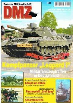 DMZ Deutsche Militärzeitschrift 2004 Heft 40 : Kampfpanzer Leopard I. Bundeswehr : Scharfschützen. Der Ostwall.