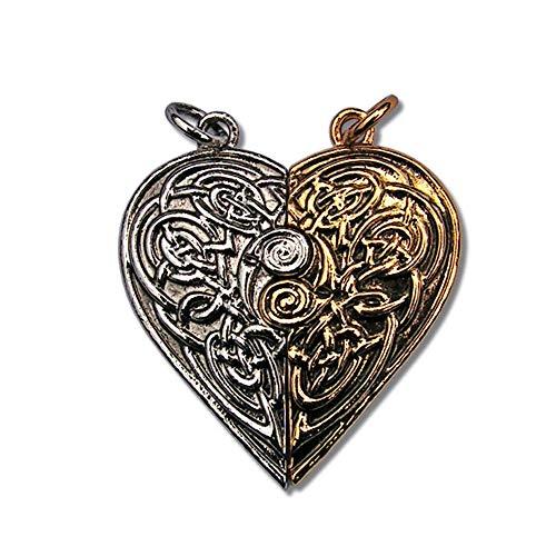 Anhänger Talisman Amulett Tristan und Isolde Liebesamulett