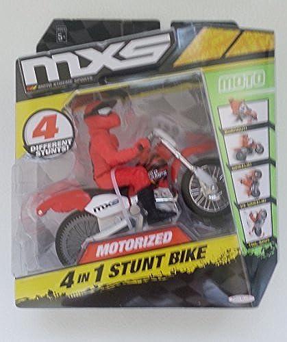 MXS Motorized 4 N 1 Stunt Bike - Moto by MXS Motorcross