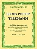 Die kleine Kammermusik -Sechs Partien für Violine (Oboe, Querflöte, Blockflöte) und Basso continuo-. Reihe: Hortus Musicus....