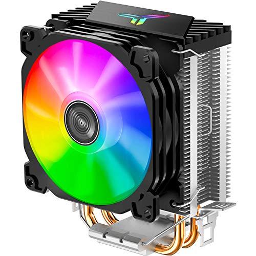 Domybest Für Jonsbo CR1200 2 Heat Pipe Tower Intel AMD CPU-Kühler Lüfter RGB 3Pin-Gebläse Fan Kühlkörper