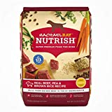 Rachael Ray Nutrish Premium Natural Dry Dog Food, Real Beef, Pea & Brown Rice Recipe, 14 Pounds