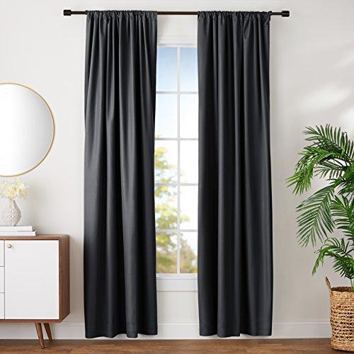 AmazonBasics Noise Reducing Curtains