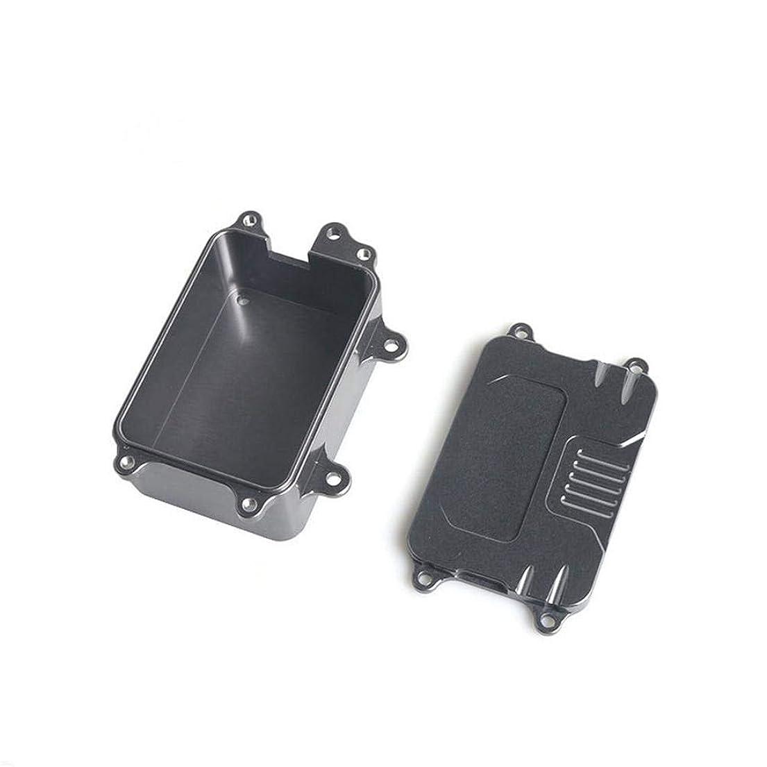 賃金バウンドアイデアYes(イェース) RCオートレシーバーボックス ミニ工具箱 1/10 RCトラックオートアキシャルSCX10 D90 D110適用