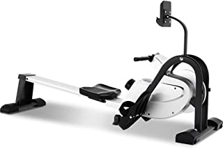 Rowing Machine,Multifunctional Household Folding Silent Magnetic Control Rowing Machine,Rowing Machine for Home Use Fitnes...