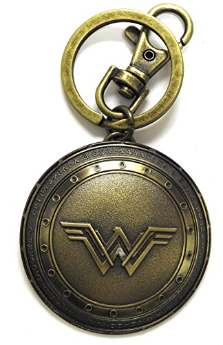 Monogram- DC Comics Llavero Escudo Wonder Woman, Multicolor (77764455025)