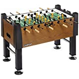 Carrom Signature Foosball, Blurry Oak