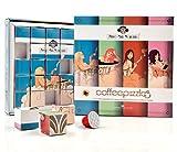 Antico Caffè Novecento Coffeepuzzles Surtido de 4 mezclas de café en cápsulas compatibles con el sistema Nespresso - 1 x 25 cápsulas (125 gramos)
