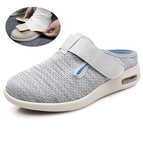 Slippers, TPU Air Cushion Orthopedic Shoes, for Pregnant Women Suffering From Plantar Fasciitis and Foot Swelling, Gray, Multicolor