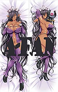 A-Fantasy Kuroinu-Kedakaki Seijo wa Hakudaku ni Somaru-Olga Discordia 150 x 50cm(59in x 19.6in) 2 Way Tricot Pillowcase