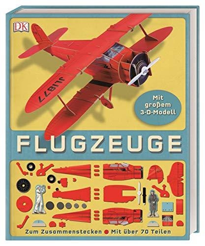 Flugzeuge: Mit großem 3-D-Modell. Zum Zusammenstecken. Mit über 70 Teilen
