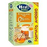Hero Baby - Natur Papilla 8 Cereales Miel 820 g