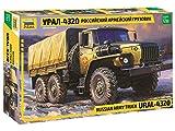 ZVEZDA 500783654 Ural 4320 - Maqueta de camión Ruso (Escala 1:35)