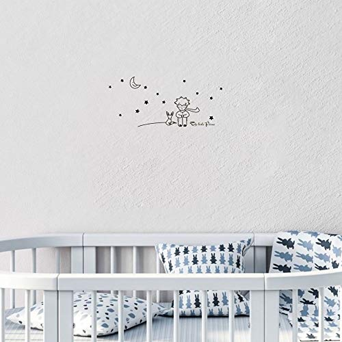 stickers enfant jungle Der kleine Prinz Moon Stars Baby Kids Bedroom für Kinderzimmer