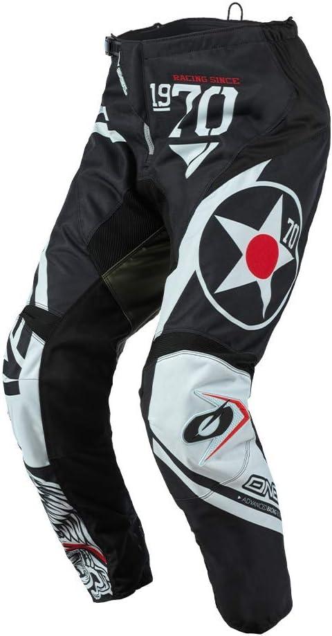 O Neal Motocross Hose Mx Enduro Passform Für Maximale Bewegungsfreiheit Leichtes Atmungsaktives Langlebiges Design Pants Element Warhawk Erwachsene Sport Freizeit