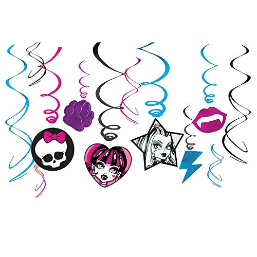 Guirlandes Verticales Monster High (x12)