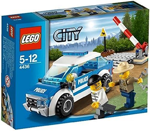 LEGO City - 4436 - Jeu de Construction - La Voiture de Patrouille en Forêt