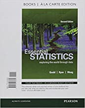 Essential Statistics, Books a la Carte Edition Plus MyLab Statistics with Pearson eText -- Access Card Package (2nd Edition)