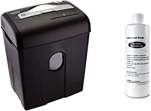 $77 » Aurora AU820MA High Security 8-Sheet Professional Micro-Cut Paper/CD/Credit Card Shredder & SL16 Professional Grade Synthe...