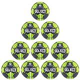Fan Sport 24 Select Solera EHF Lot de 10 balles d'entraînement Gris/Vert/Blanc 1 Gris