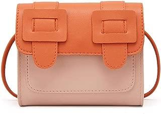 Leather Shoulder Bag for Women, Hamkaw Crossbody Bag Purse Fashion Travel Handbag with Long PU Shoulder Strap for Girls to Store Cellphone, Skin Cream, Glasses, More