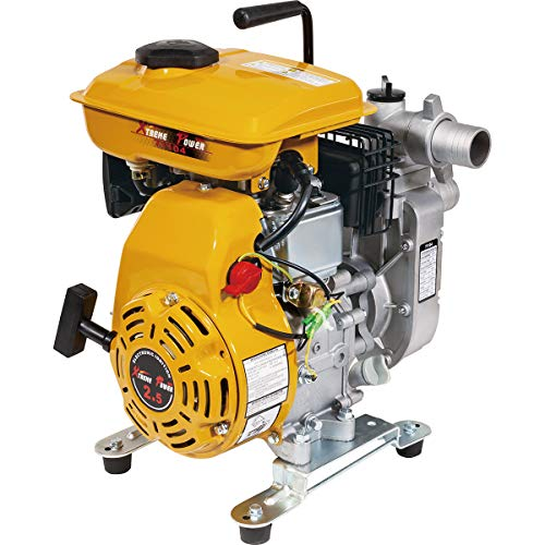 XtremepowerUS 2.5 HP 4 Stroke Gas-Powered Portable Water Pump Transfer 1,980 GPH Gas-Powered 1.5-inch w/Handle