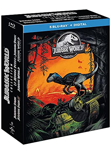 Coffret jurassic world collection 5 films